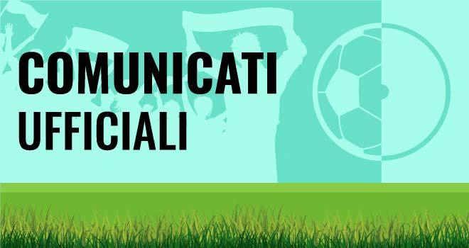 Comunicati Ufficiali - IamCALCIO Isernia