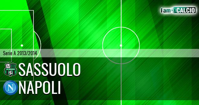 Sassuolo - Napoli - Serie A 2013 - 2014