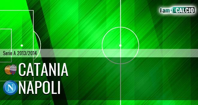 Catania - Napoli 2-4. Cronaca Diretta 26/03/2014