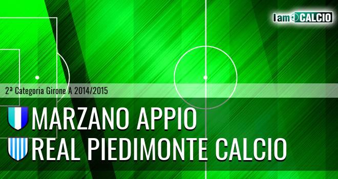 Marzano Appio - Real Piedimonte Calcio