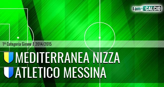 Mediterranea Nizza - Atletico Messina