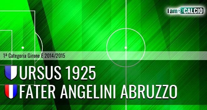 Ursus 1925 - Fater Angelini Abruzzo