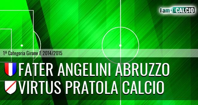 Fater Angelini Abruzzo - Virtus Pratola Calcio