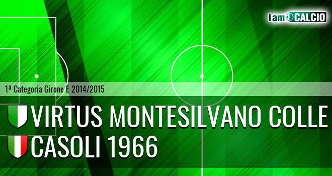 Virtus Montesilvano Colle - Casoli 1966