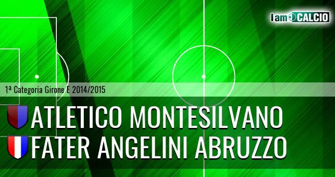 Atletico Montesilvano - Fater Angelini Abruzzo