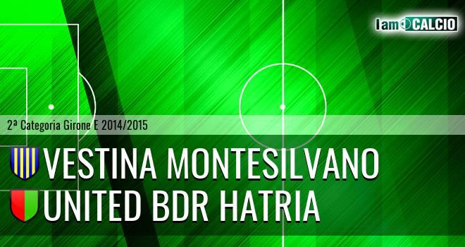 Vestina Montesilvano - United Bdr Hatria