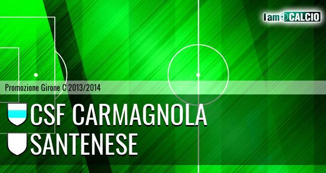 Csf Carmagnola - Santenese