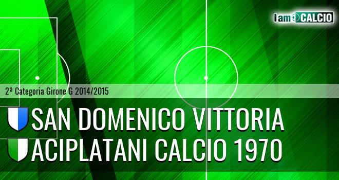 San Domenica Vittoria - Aciplatani Calcio 1970