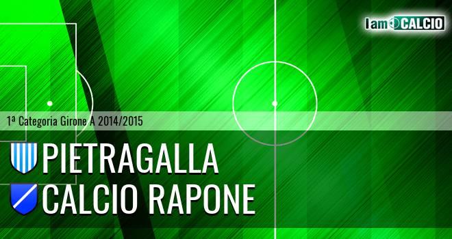 Pietragalla - Calcio Rapone