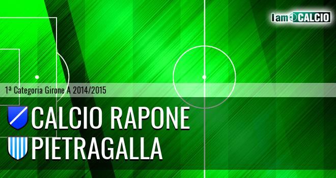 Calcio Rapone - Pietragalla