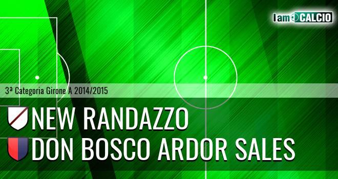 New Randazzo - Don Bosco Ardor Sales