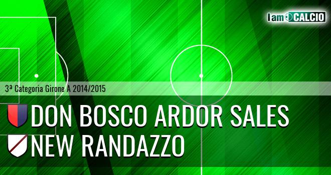 Don Bosco Ardor Sales - New Randazzo