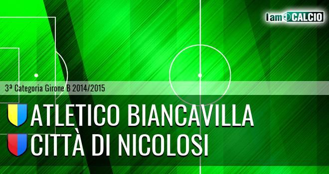 Atletico Biancavilla - Città di Nicolosi