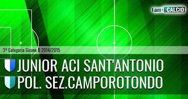 Junior Aci Sant'Antonio - Pol. sez.Camporotondo