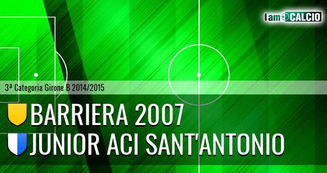 Barriera 2007 - Junior Aci Sant'Antonio