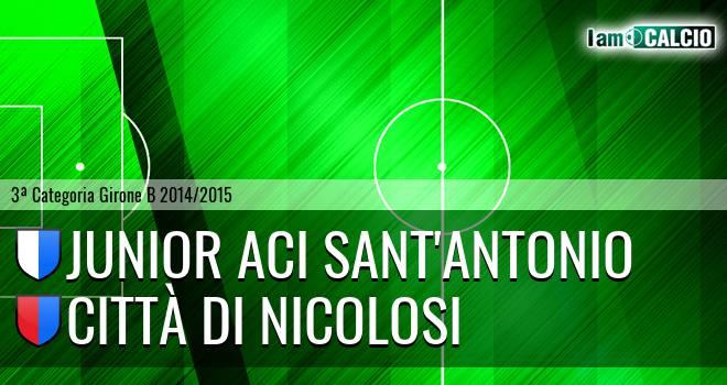 Junior Aci Sant'Antonio - Città di Nicolosi