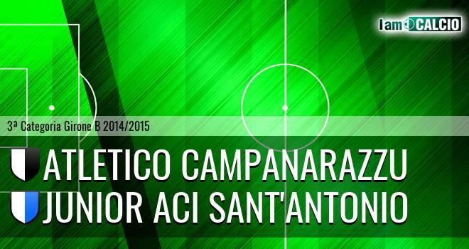 Campanarazzu - Junior Aci Sant'Antonio