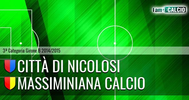 Città di Nicolosi - Massiminiana Calcio
