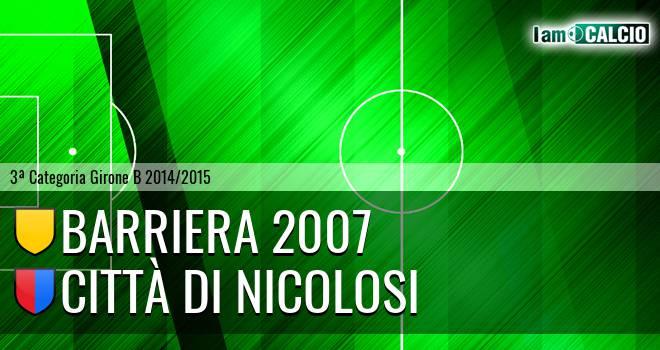 Barriera 2007 - Città di Nicolosi