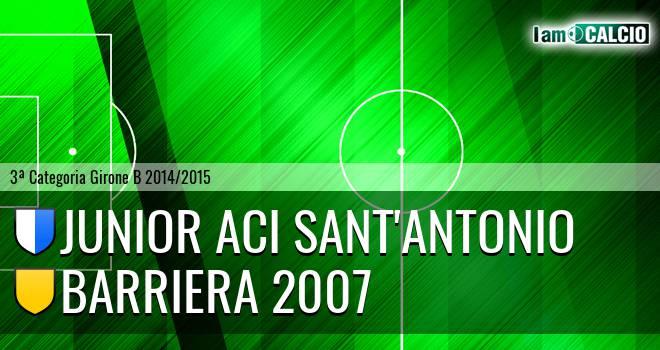 Junior Aci Sant'Antonio - Barriera 2007