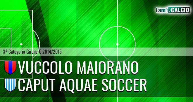 Vuccolo Maiorano - Caput Aquae Soccer