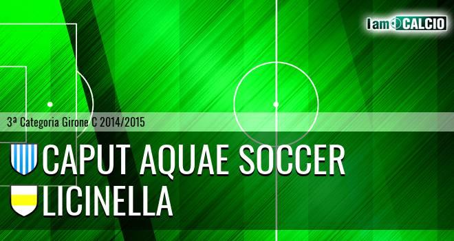 Caput Aquae Soccer - Licinella