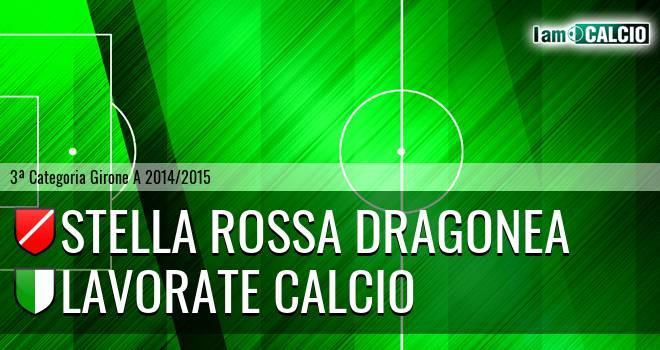 Stella Rossa Dragonea - Lavorate Calcio