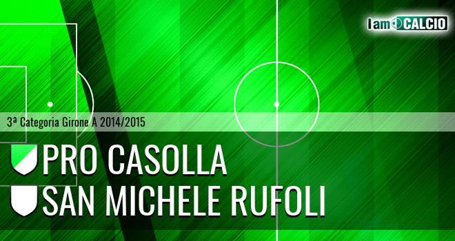 Pro Casolla - San Michele Rufoli