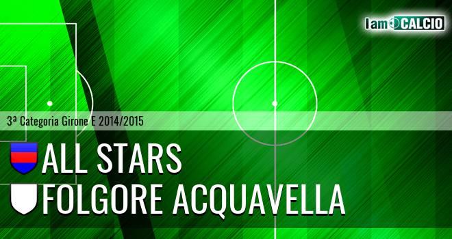 All Stars - Folgore Acquavella