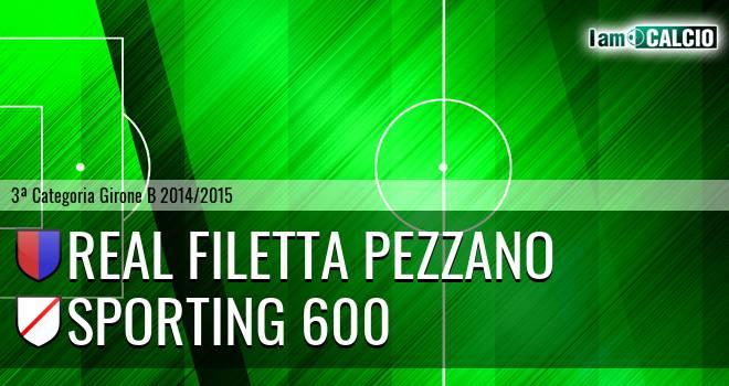 Real Filetta Pezzano - Sporting 600