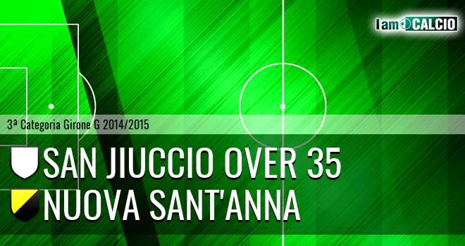 San Jiuccio Over 35 - Nuova Sant'Anna