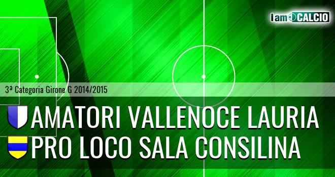 Amatori Vallenoce Lauria - Pro loco Sala Consilina