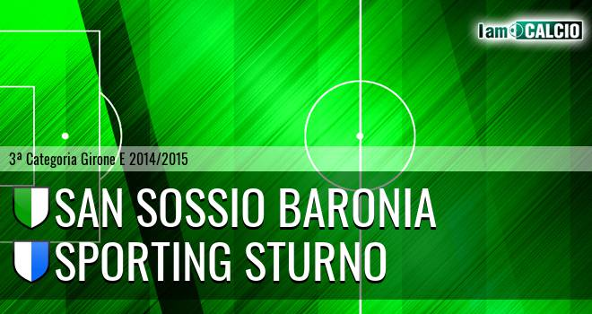 San Sossio Baronia - Sporting Sturno