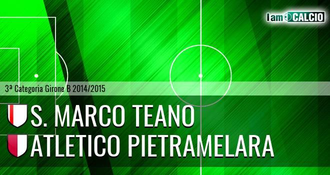 S. Marco Teano - Virtus Pietramelara