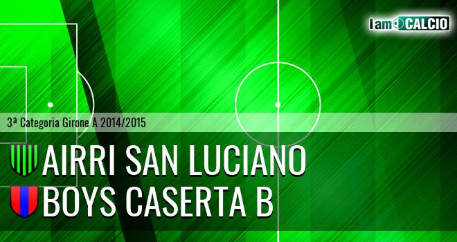 Airri San Luciano - Boys Caserta B