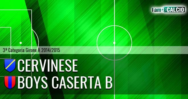 Cervinese - Boys Caserta B