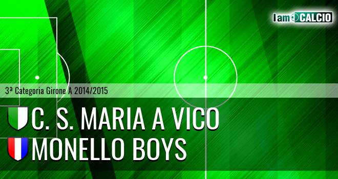 C. S. Maria a Vico - Monello Boys