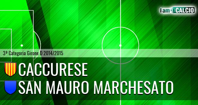 Caccurese - San Mauro Marchesato