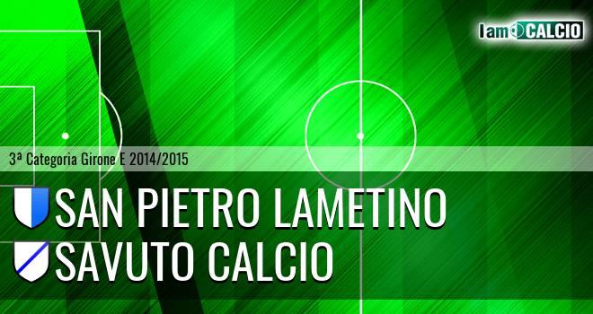 San Pietro Lametino - Savuto Calcio