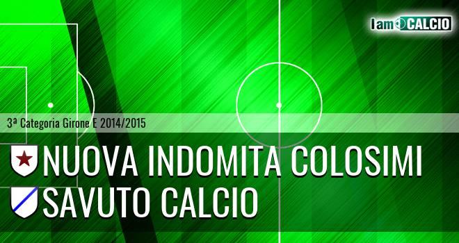 Nuova Indomita Colosimi - Savuto Calcio