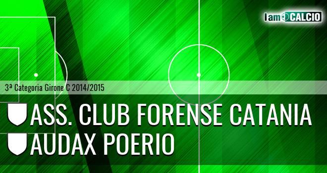 Ass. Club Forense Catania - Audax Poerio