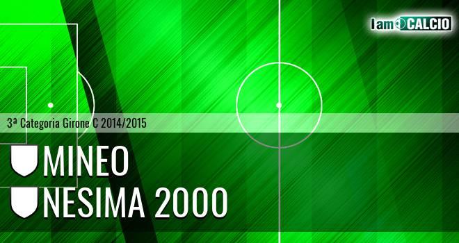Mineo - Nesima 2000