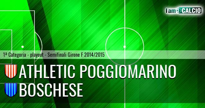 Athletic Poggiomarino - Boschese