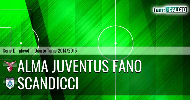 Alma Juventus Fano - Scandicci
