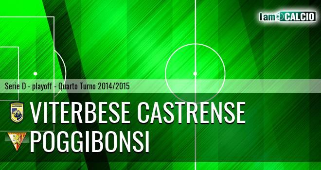 Viterbese Castrense - Poggibonsi