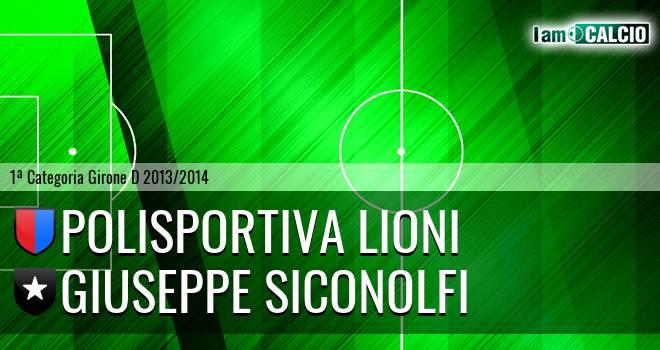 Polisportiva Lioni - Giuseppe Siconolfi