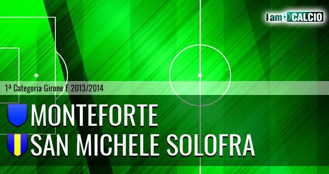 Monteforte - San Michele Solofra