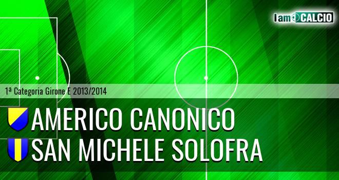 Americo Canonico - San Michele Solofra