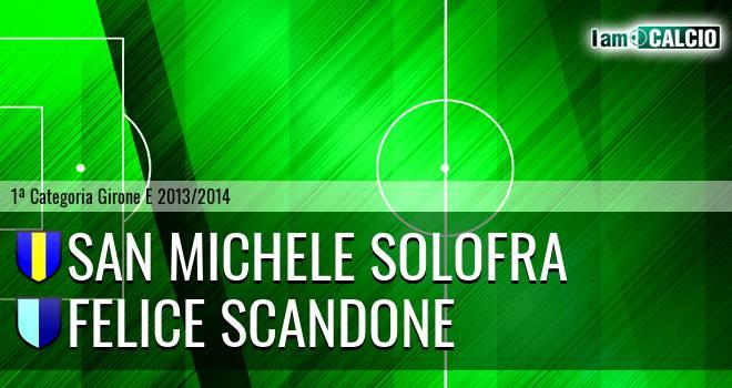 San Michele Solofra - Felice Scandone