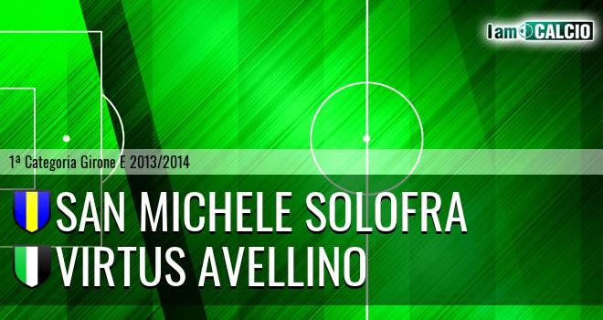 San Michele Solofra - Virtus Avellino